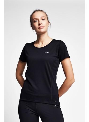 Lescon Siyah Kadın T-Shirt 21S-2204-21B Siyah